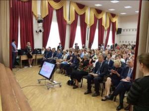 Леонид Печатников и Исаак Калина встретились с жителями ЮАО