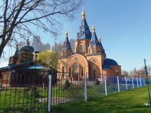 Храм державной иконы Божией Матери в районе Чертаново Северное