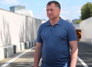 Марат Хуснуллин посетил строящейся Алабяно-Балтийский тоннель