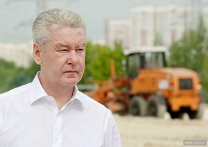 Мэр Москвы рассказал о дорожном строительстве на Каширском шоссе
