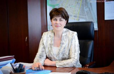 Глава управы района Чертаново Северное Татьяна Илек