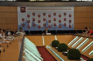 В Москве прошла пресс-конференция руководителя Департамента развития новых территорий столицы Владимира Жидкина