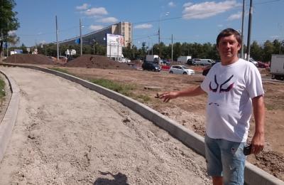 Депутат Сергей Иванов планирует выдвинуть инициативу о строительстве новой велосипедной дорожки