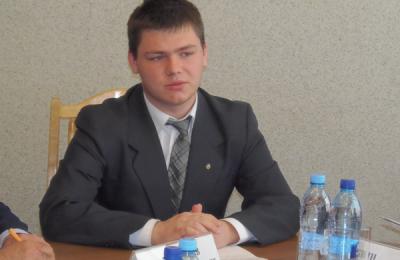 Председатель молодежной палаты района Чертаново Северное Алексей Лукоянов