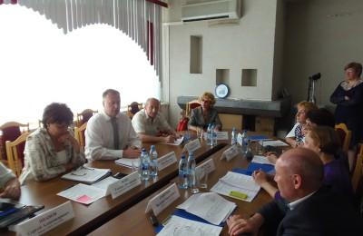 Очередное заседание Совета депутатов муниципального округа прошло в районе Чертаново Северное