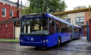 Подвижной состав наземного общественного транспорта Москвы обновился на 70% за пять лет