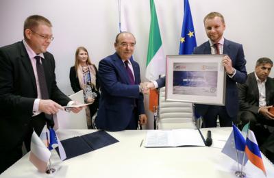 Ряд соглашений с итальянскими компаниями подписали в Милане власти столицы