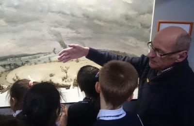 Посещение школьника музея состоялось по инициативе депутата муниципального округа Чертаново Северное Владимира Лебедева