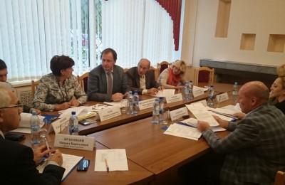Заседание Совета депутатов состоялось в районе Чертаново Северное
