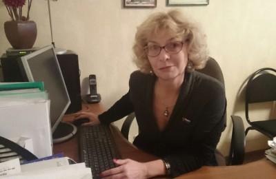 Депутат муниципального округа Чертаново Северное Светлана Гладышева