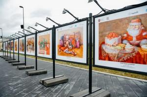 Зимняя фотовыставка открылась в парке «Садовники»