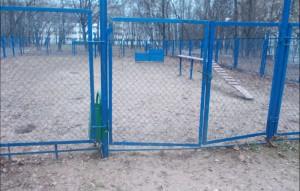 Площадка для выгула собак в районе Чертаново Северное