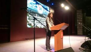 Перед общественными советниками выступила заместитель мэра Москвы Анастасия Ракова