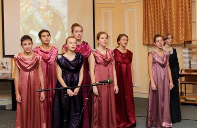 Солистки вокальной студии «Эвридика» центра внешкольной работы «На Сумском» приняли участие в праздничной встрече, которая была посвящена 285-летию со дня рождения полководца Александра Суворова