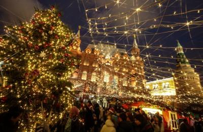 Свыше 1 млн жителей и гостей Москвы посетило новогодний фестиваль на Манежной площади