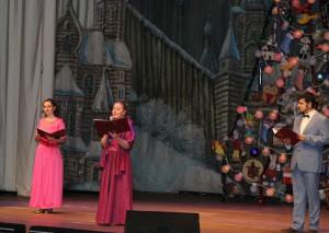 Заключительный гала-концерт детского благотворительного фестиваля «Свет Рождественской звезды» прошел в ЮАО
