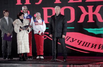 Мэр Москвы Сергей Собянин сообщил, что в новогодних праздниках приняли участие около 20 миллионов человек