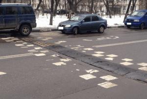 Ремонт искусственной дорожной неровности провели в районе Чертаново Северное