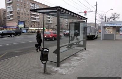 Новые остановочные павильоны будут устанавливать в Москве в 2016 году