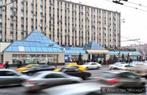 """Торговый центр """"Пирамида"""", располагавшийся в Москве возле метро """"Пушкинская"""", был признан самостроем в декабре"""
