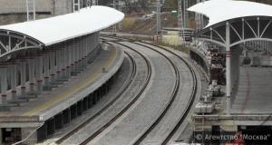 Станцию «Технопарк» на МКЖД закончат возводить к концу года