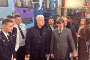 Мэр Москвы Сергей Собянин сообщил, что подвижной состав московского метро на 37% состоит из вагонов новых моделей