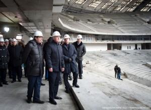 Мэр Москвы Сергей Собянин анонсировал раннее завершение реконструкции стадиона «Лужники»