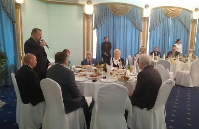 Торжественный прием участников боевых действий в Афганистане провел префект ЮАО Алексей Челышев
