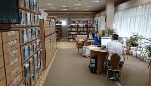 В одной из библиотек района Чертаново Северное