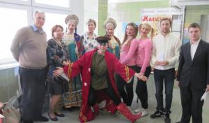 Жители района Чертаново Северное приняли участие в праздновании Масленицы