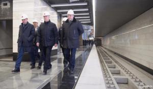 Мэр Москвы Сергей Собянин сообщил, что строительство первого участка ТПК в столице завершится в течение года