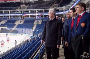 Мэр Москвы Сергей Собянин сообщил, что столица полностью готова к предстоящему чемпионату мира по хоккею