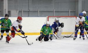 Юные хоккеисты специализированной детско-юношеская школы олимпийского резерва (СДЮШОР) «Русь» досрочно заняли первое место в чемпионате Москвы