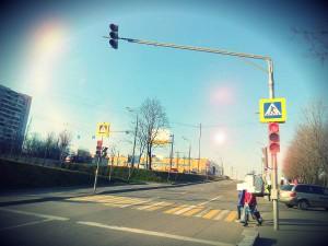 Два светофора в районе Чертаново Северное отремонтировали по обращениям жителей