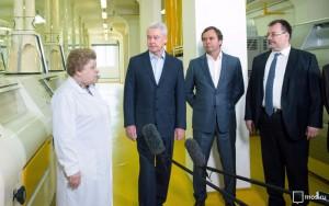 Мэр Москвы Сергей Собянин сообщил,что правительство столицы поддерживает предприятия пищевой промышленности