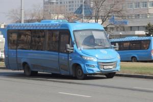 Новый коммерческий автобус в Москве