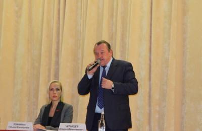 В Южном округе прошла встреча префекта Алексея Челышева с жителями