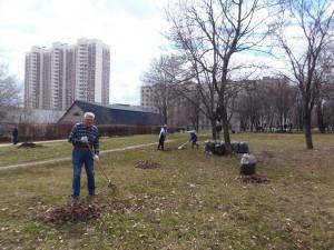 Общегородские субботники пройдут в апреле в районе Чертаново Северное