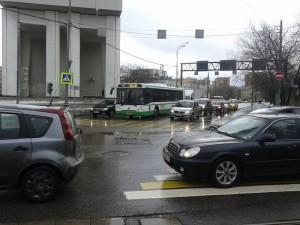Почти на 30% увеличится скорость движения общественного транспорта на улице Подольских Курсантов с введением выделенки