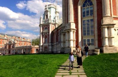 В музее-заповеднике «Царицыно»