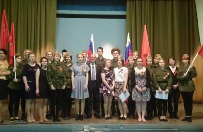 В технологическом колледже №34 прошел праздничный концерт, приуроченный предстоящей 71-й годовщине Победы в Великой Отечественной войне