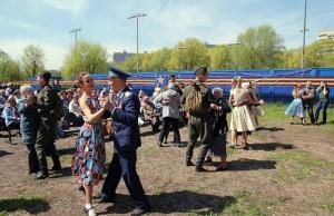 Праздник в честь Дня Победы в Южном округе