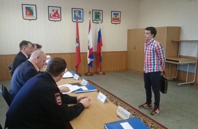 Очередное заседание призывной комиссии прошло в районе Чертаново Центральное