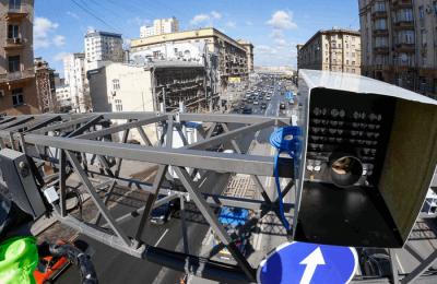 Следить за безопасностью движения в Москве будут 600 новых дорожных камер