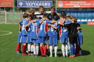 Футболисты из школы «Чертаново»