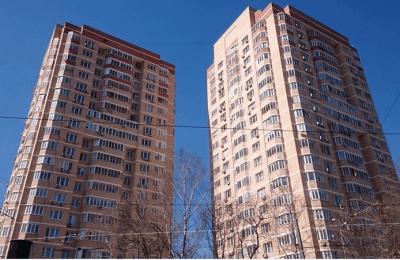 Новые жилые дома в ЮАО