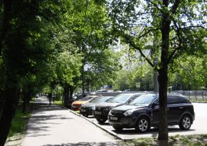 Автотранспорт в районе Чертаново Северное