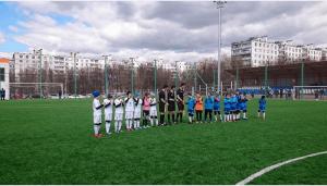Юные футболисты из Чертанова Северного