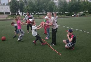 В детском лагере района Чертаново Северное