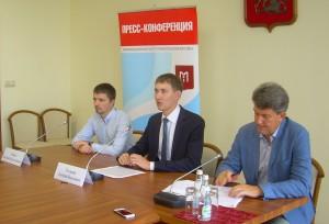 Дмитрий Николаевич Тетушкин на пресс-конференции